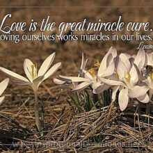 Love Is The Great Miracle Cure (513-Hay)